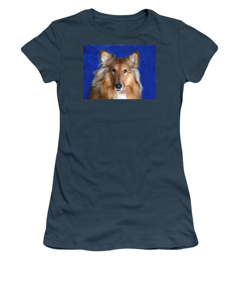 Women's T-Shirt (Junior Cut) featuring the photograph Rosie by Evelyn Tambour