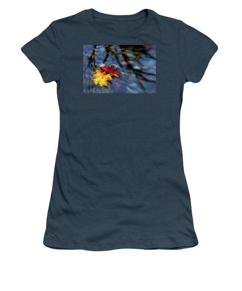 Safe Passage Women's T-Shirt (Junior Cut) by Chuck Mountain