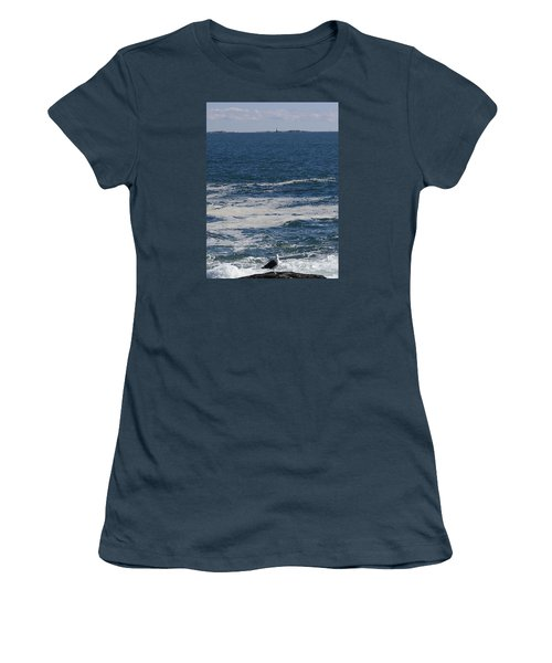 Seabreeze. Women's T-Shirt (Junior Cut) by Robert Nickologianis