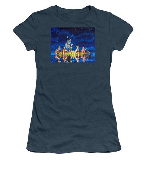 Ship Of Fools Women's T-Shirt (Junior Cut) by Matt Konar