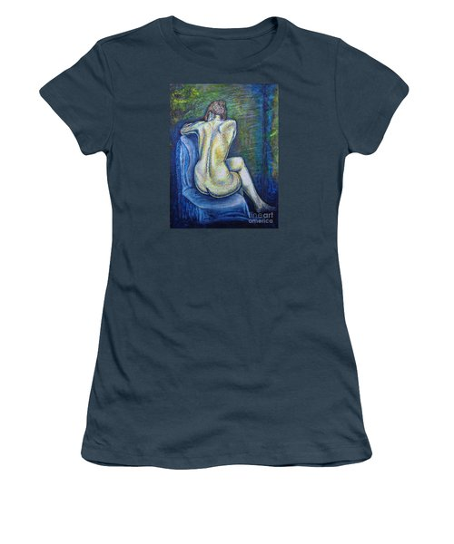 Silhouette 2 Women's T-Shirt (Junior Cut) by Viktor Lazarev