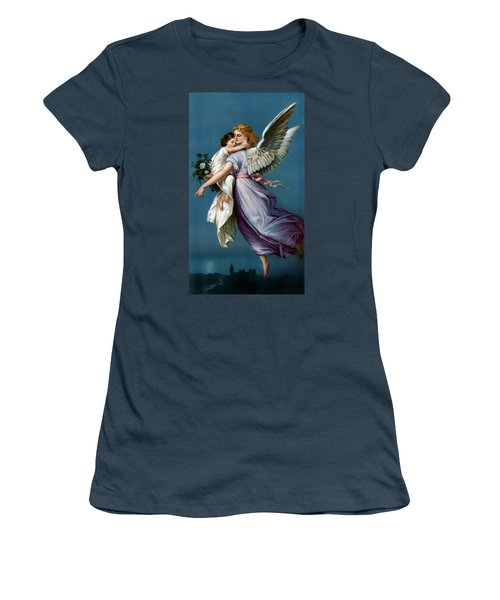 The Angel Of Peace For I Phone Women's T-Shirt (Junior Cut) by Terry Reynoldson