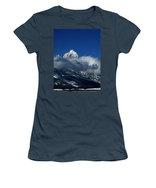 Women's T-Shirt (Junior Cut) featuring the photograph The Clearing Storm by Raymond Salani III