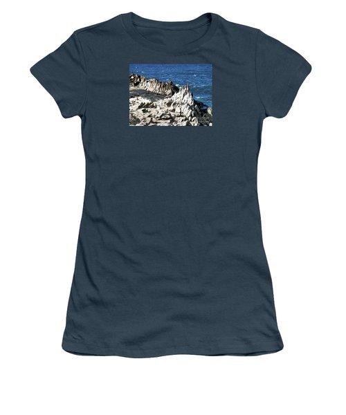 The Dragons Teeth I Women's T-Shirt (Junior Cut) by Patricia Griffin Brett