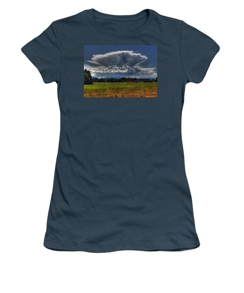 Thunder Storm Women's T-Shirt (Junior Cut) by Randy Hall