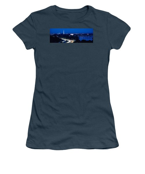 Traffic On The Road, Washington Women's T-Shirt (Junior Cut) by Panoramic Images