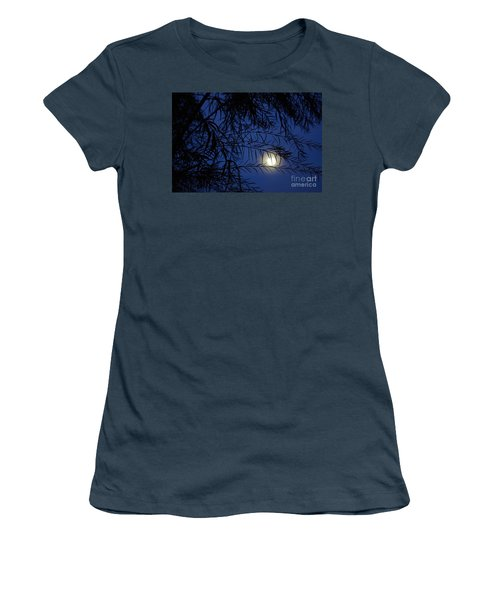 Twilight Moon Women's T-Shirt (Junior Cut) by Kerri Mortenson