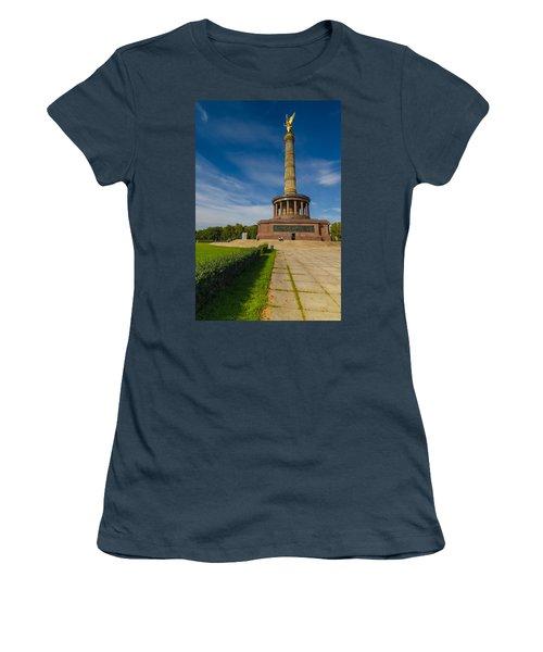 Victory Column Women's T-Shirt (Junior Cut) by Jonah  Anderson