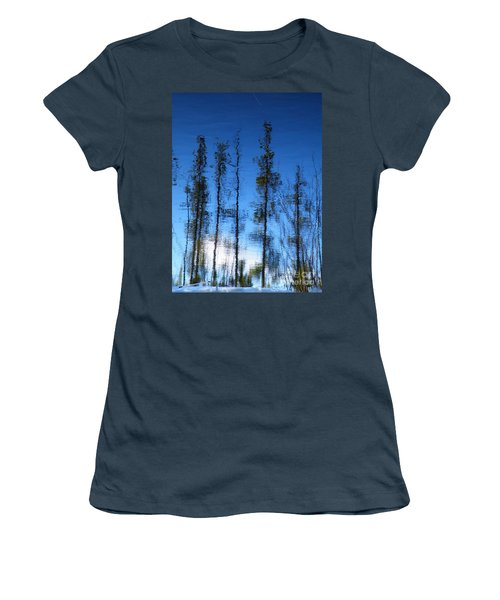 Wavering Women's T-Shirt (Junior Cut) by Brian Boyle