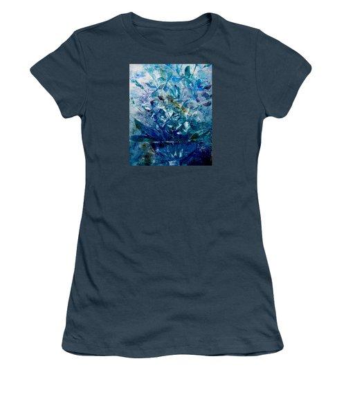 Winter Bouquet Women's T-Shirt (Junior Cut) by Lisa Kaiser