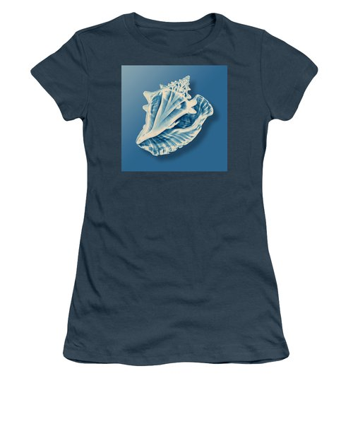 X-ray Of A Conch Shell Women's T-Shirt (Junior Cut) by Mark Greenberg