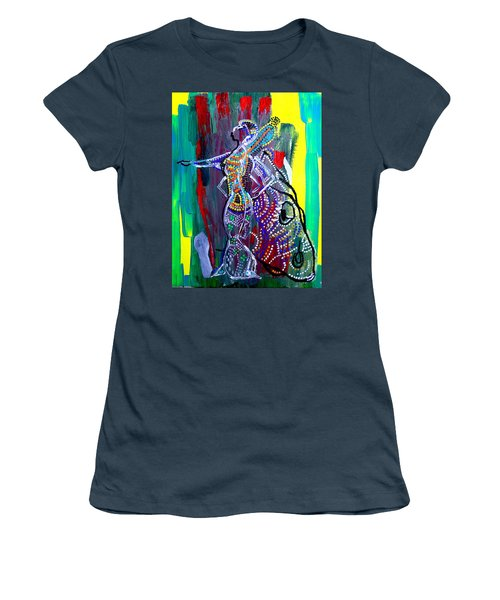 Dinka Lady - South Sudan Women's T-Shirt (Junior Cut) by Gloria Ssali