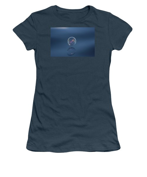 Women's T-Shirt (Junior Cut) featuring the photograph Floating On The Breeze by Cathie Douglas