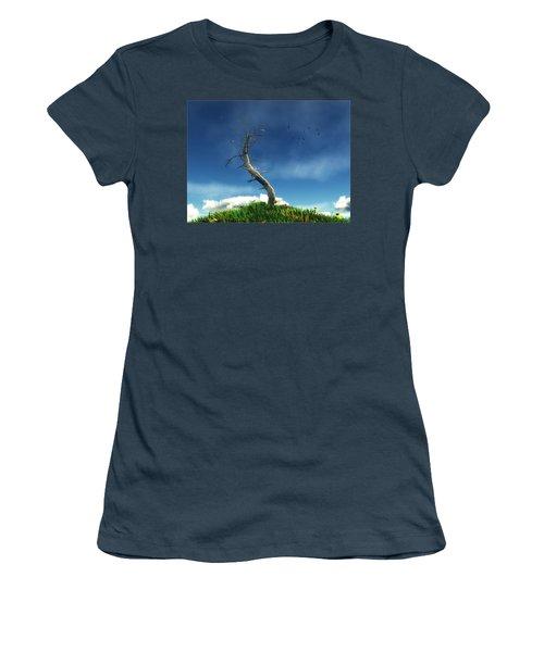 Life And Death... Women's T-Shirt (Junior Cut) by Tim Fillingim