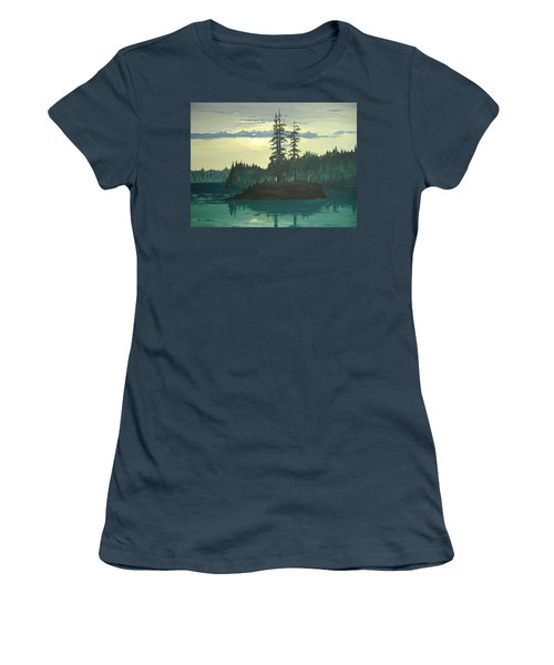 Peace And Quiet Women's T-Shirt (Junior Cut) by Norm Starks