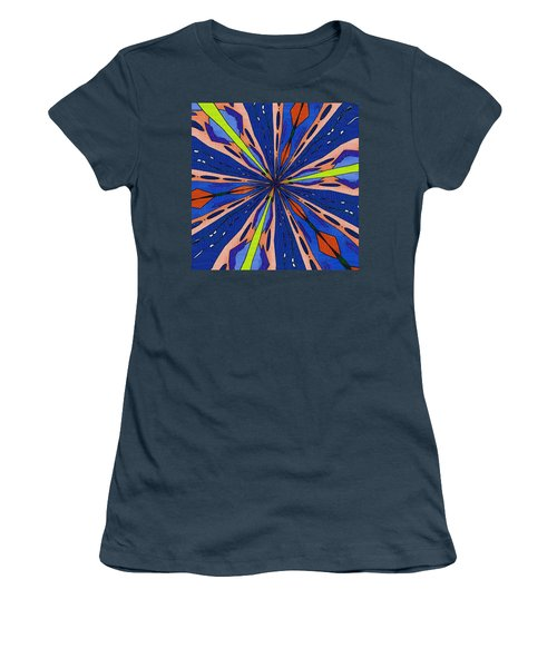 Women's T-Shirt (Junior Cut) featuring the digital art Portal To The Past by Alec Drake