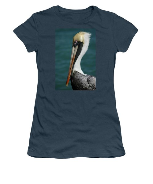Women's T-Shirt (Junior Cut) featuring the photograph Posing For The Tourists by Vivian Christopher