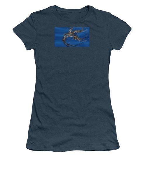 Women's T-Shirt (Junior Cut) featuring the digital art Selbstvertrauen by Jeff Iverson