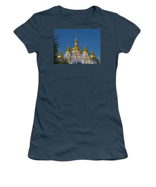 Women's T-Shirt (Junior Cut) featuring the photograph St. Michael's Cathedral by David Gleeson