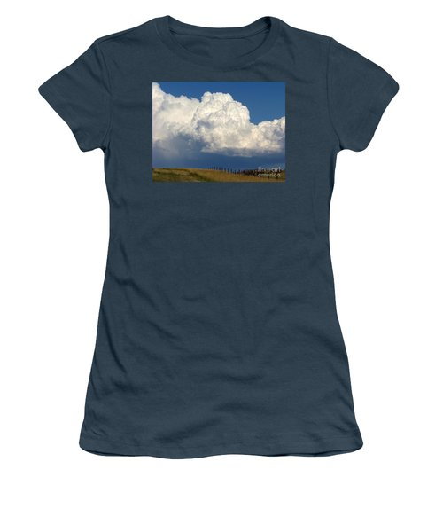 Storm's A Brewin' Women's T-Shirt (Junior Cut) by Dorrene BrownButterfield