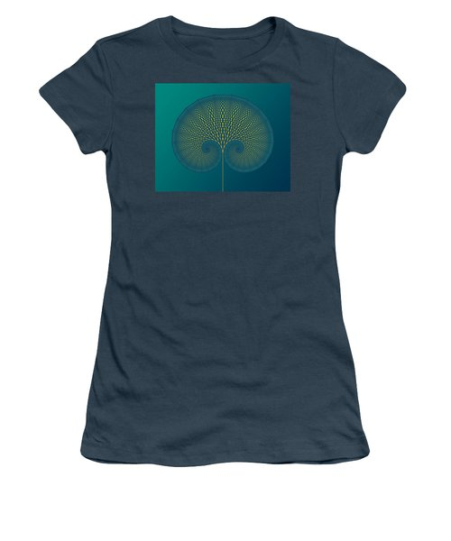 Tree Of Well-being Women's T-Shirt (Junior Cut) by Mark Greenberg