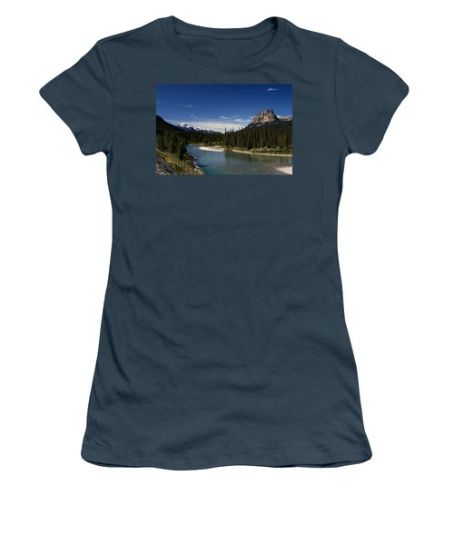 Castle Mountain 1 Women's T-Shirt (Junior Cut)