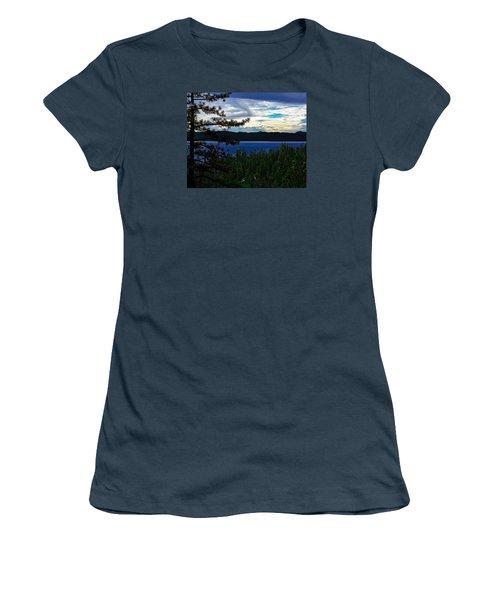 Chrystal Blue Waters Women's T-Shirt (Junior Cut)