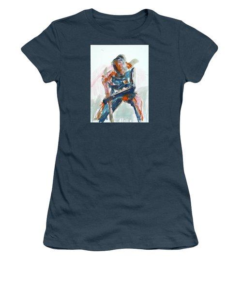 04954 Athlete Women's T-Shirt (Junior Cut) by AnneKarin Glass