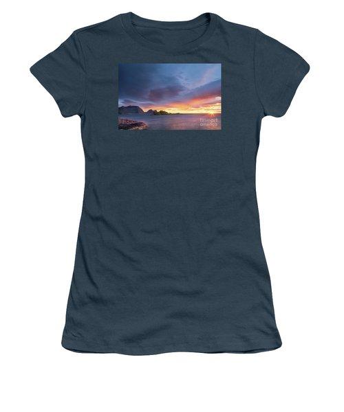 Dreamy Sunset Women's T-Shirt (Junior Cut)