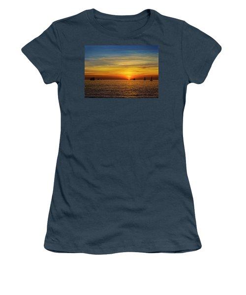 Key West Sunset Women's T-Shirt (Junior Cut) by Scott Meyer