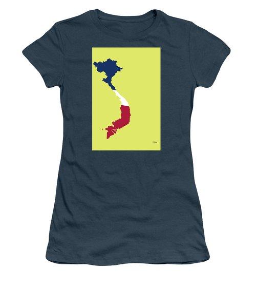 Women's T-Shirt (Junior Cut) featuring the digital art Music Notes 17 by David Bridburg