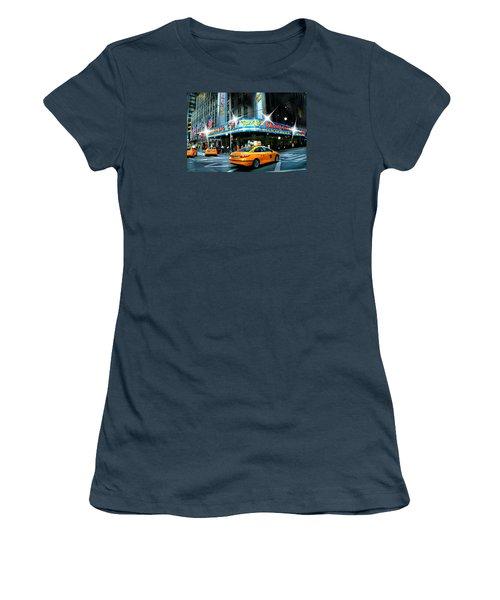 Radio City Women's T-Shirt (Junior Cut) by Diana Angstadt
