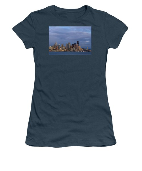Women's T-Shirt (Junior Cut) featuring the photograph Seattle by Evgeny Vasenev
