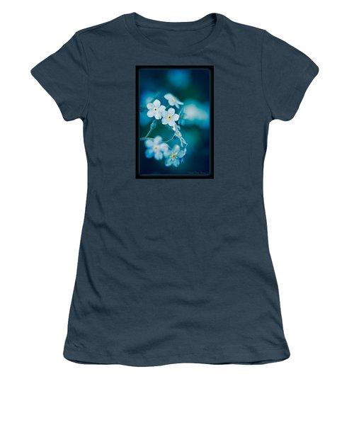 Soft Blue Women's T-Shirt (Junior Cut)