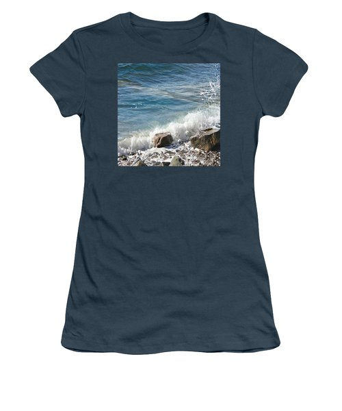 Splash Women's T-Shirt (Junior Cut) by Judy Palkimas