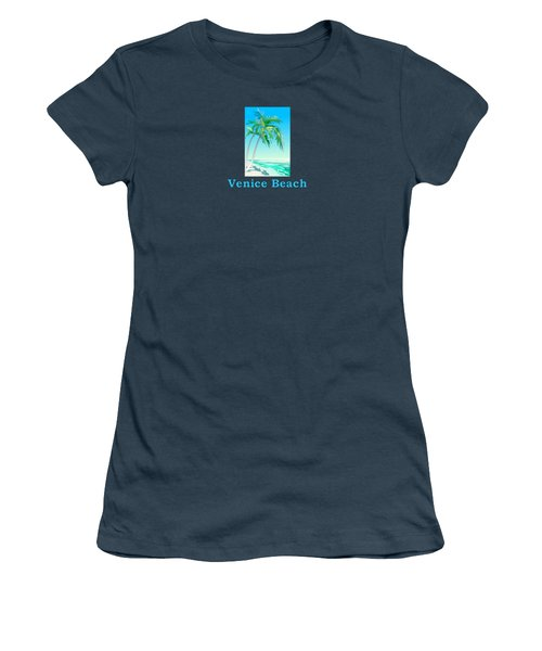 Venice Beach Women's T-Shirt (Junior Cut) by Brian Edward