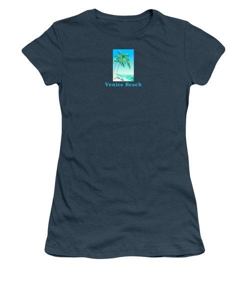 Venice Beach Women's T-Shirt (Athletic Fit)