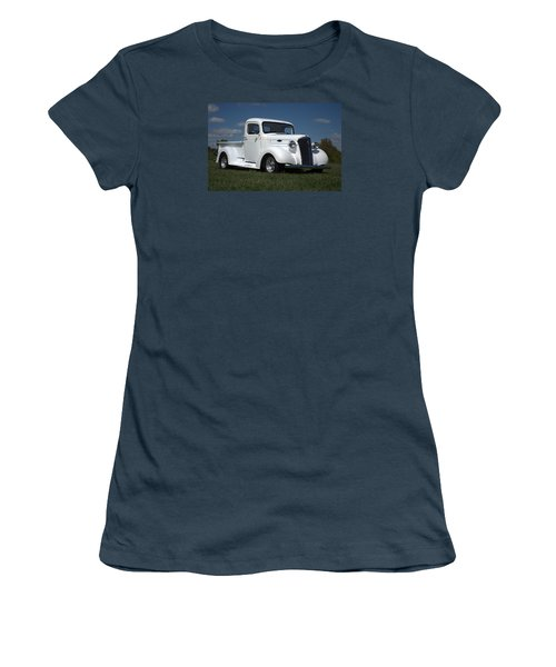 1937 Chevrolet Pickup Truck Women's T-Shirt (Junior Cut) by Tim McCullough