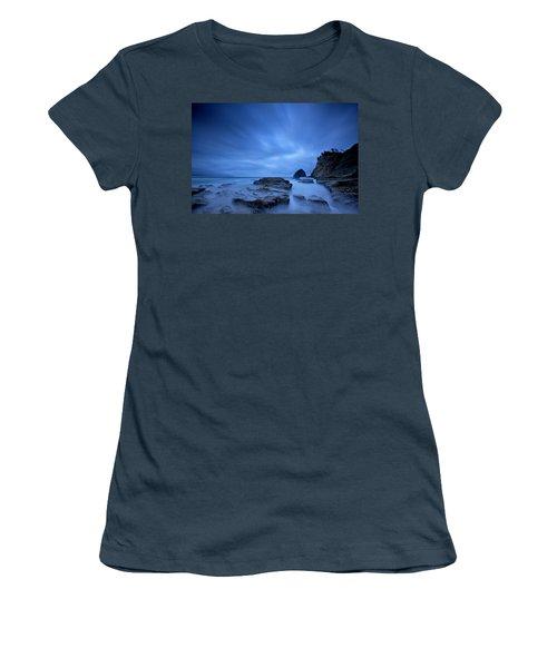 Women's T-Shirt (Junior Cut) featuring the photograph Cape Kiwanda by Evgeny Vasenev
