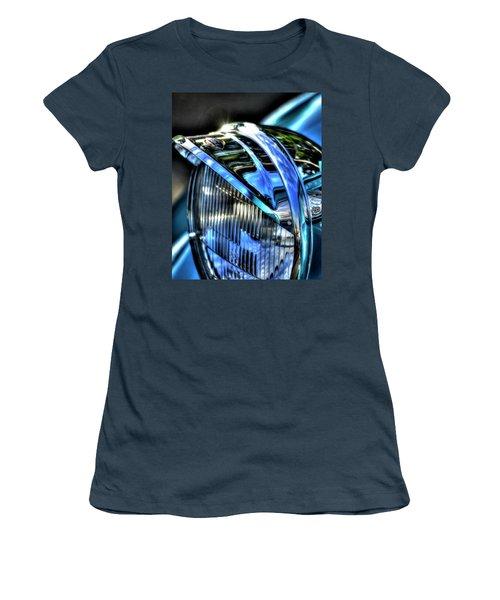 38 Ford Headlamp Women's T-Shirt (Junior Cut) by Jerry Sodorff