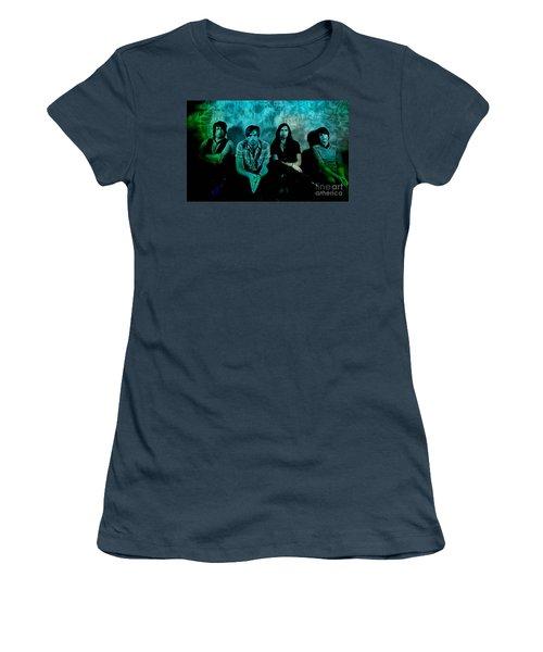 Kings Of Leon Women's T-Shirt (Junior Cut) by Marvin Blaine