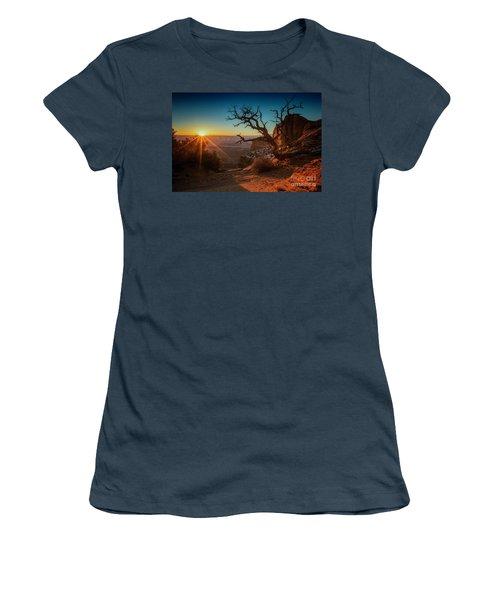 A New Day Dawns Women's T-Shirt (Junior Cut) by Kristal Kraft