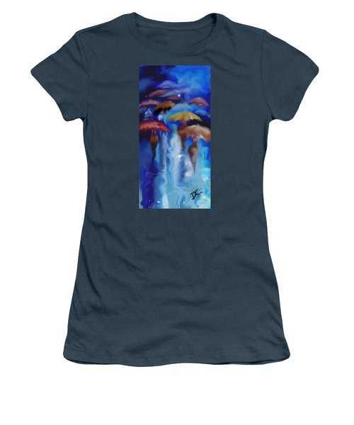 A Rainy Day In Paris Women's T-Shirt (Junior Cut)