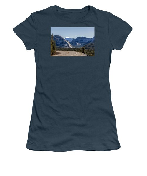 Women's T-Shirt (Junior Cut) featuring the photograph A Road To Follow by Everet Regal