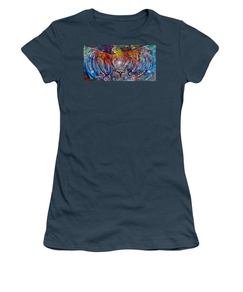 Awaken Women's T-Shirt (Junior Cut) by Leela Payne
