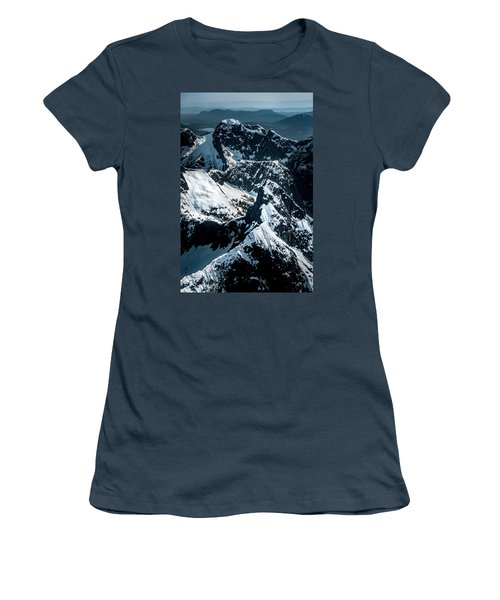 Beartooth Mountain Bc Women's T-Shirt (Athletic Fit)