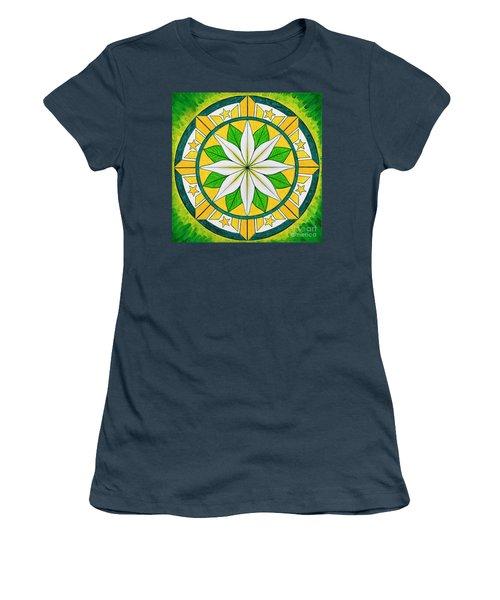 Blessings Of Kapayapaan/bendiciones De La Paz Women's T-Shirt (Junior Cut)