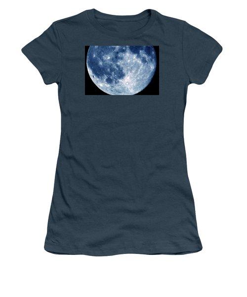 Blue Moon 7-31-15 Women's T-Shirt (Junior Cut)
