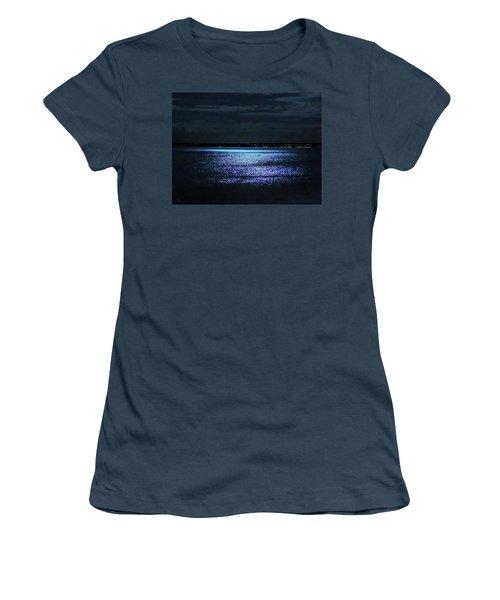 Blue Velvet Women's T-Shirt (Junior Cut) by Glenn Feron