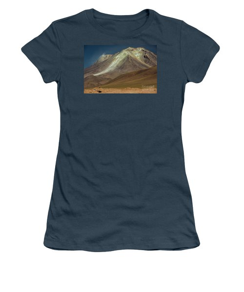 Women's T-Shirt (Junior Cut) featuring the photograph Bolivian Highland by Gabor Pozsgai
